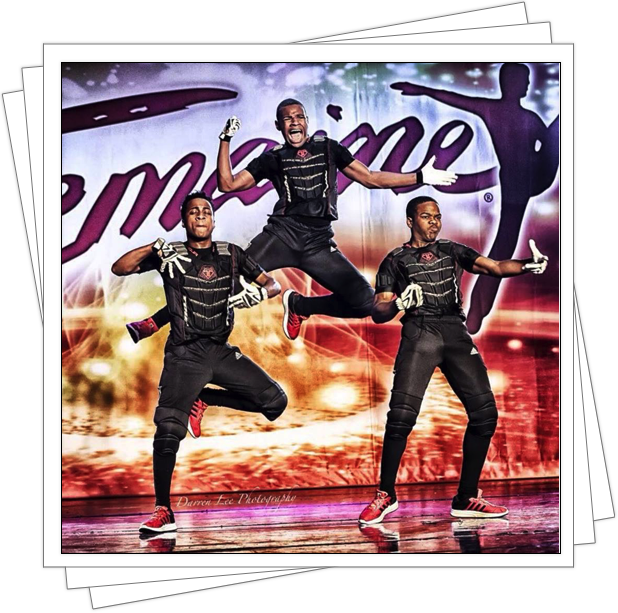 Xavier, Jai, and Christain at Tremaine National Finals