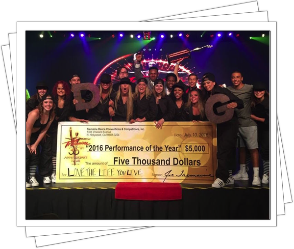 """2016 Performance Of The Year"" at Tremaine National Finals!!!"